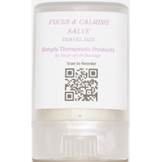 Focus & Calming Salve Travel Size